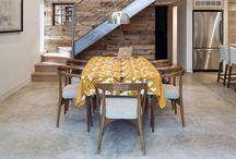 Huis - muren, trappen, structuur