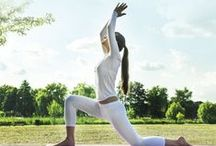 Yoga: Improve Health & Fitness / Yoga involves breath control and simple meditation for health and relaxation of the body.