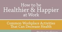 Workplace Wellness / Resources for EMPLOYEE WELLNESS Coordinators and other Health Promotion Professionals -  Creative, cost-saving ideas & supporting evidence + stress management tips, educational infographics and inspirational content to share with your employees  #WorkplaceWellness #HealthPromotion