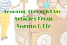☼ Learning Through Play / Children (babies, toddlers and preschoolers) learn so many valuable skills through unstructured play and play activities.  Articles and activities related to learning through play and play based learning.