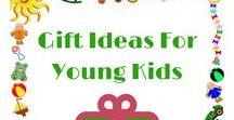 Gifts For Young Kids / Toys that promote learning through play, pretend play, creativity, problem solving, etc.
