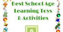 School Aged Kids - Best Learning Toys & Activities / Best learning toys and activities for school aged kids (ages 5+) with a focus on STEM toys and toys/activities that encourage natural inquiry based learning.