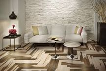 Wood ?!... Tiles!! / High quality porcelain tiles that reproduce and give our new interpretation of floor and wall coverings