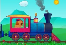 Animal Train for Toddlers / Animal Train for Toddlers is an animated game to help your kids (1-3 year olds) learn about animal sounds and have fun along the way. Choose your language and download on App Store http://animaltrainapp.com/