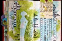 craft journaling / Wat kan ik allemaal met de kinderen meegeven om hun schrift te vullen