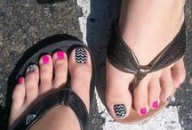 pretty pedis and manis