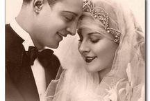 VintagePhoto@CakeRental.com / Vintage Bride & Groom photos