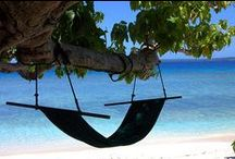 Get In Your Hammock  / We all dream of it. Taking our feet off the ground and laying back in a hammock (however many attempts it takes to get in it - once you're in your in). So here's the best to attempt.