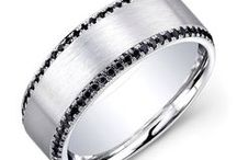 Men's Wedding Bands - Rondel's Jewelry / Excellent craftsmanship and masterful design, Rondel's offers a wide variety of groom's wedding bands.