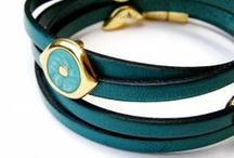 jUST LeatHER / Quality leather bracelets with a modern twist