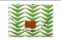 """Halsea: The Dunes  / With the laid back California style of the 70's as the inspiration behind the line, Halsea founder and designer, Sally Bartz, says, """"I love the Zig Zag pattern of the Dunes.  It's the Halsea take on the classic chevron pattern and the color reminds me of fresh cut grass on a summer day."""" www,halsea.com"""