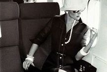 Jet Set Chic / Classic travel style of the fancy, famous and chic