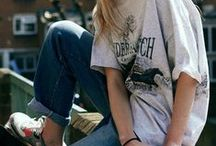 Street Style / Wearing tees and looking fly