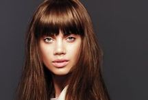 Long Styles - straight and curly / whether it's bounce or sleek, we can help you decide on the right style for you