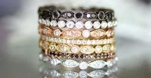 Ladies Wedding Bands - Rondel's Jewelry / We cater to brides from 'Will you marry me?' to 'I do'! Find your wedding band.