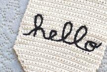 Knit, crochet + sew