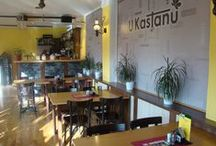 Interiér naší restaurace / Můžete se podívat, jak to vypadá v naší příjemné restauraci.