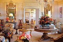 Impressionist-Era Estates / Highlighting architectural accents reminiscent of the Impressionist era.