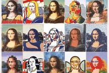 Mona Lisa / Mona Lisa parodies and others for her