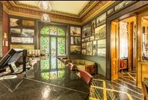 """Gallery Bar in Riga Center! / Gallery Bar - marble, leather, paintings, wood, brass, crystal, finest spirits and Cuban cigars. This is not one of """"those hotel bars"""" – this is one of Riga's best kept secrets, privileged spot with a cosy atmosphere, an Art Deco masterpiece.  """"Top three Old World classiest bars in town!"""".Gallery Bar is open 7 days a week,24 Hrs"""