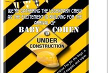 Under construction baby shower