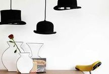 Hats off! / Dedicated to the unique installations of Jeeves and Wooster lighting by innermost