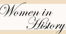 Women in History / Historic lady bosses who changed the world by standing up for their beliefs. |   women in history, iconic women, historical women, feminists, queen elizabeth, grace kelly, queens, princesses, joan of arc, jane austen, marie curie, women who changed the world, influential women