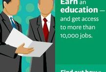 Jobs and Careers / Websites that can help you find a a new job, change your current career, or connect you to an internship where you can learn on-the-job skills.