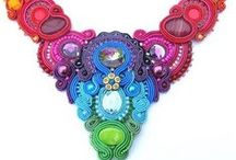 Amazing Soutache / Jewelry made of soutache braids (before braids like were used for trimming clothing). Me and soutache, it was love at first sight!