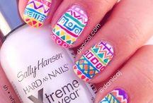 Uñas / Estos son muchos estilos de uñas que puedes elegir, son fáciles de hacerlos, elegí el que más te gusta