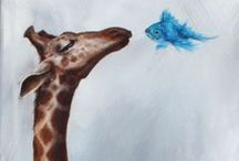 Giraffes / Beautiful items related to one of my favorite animals!