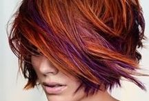 Haircuts and Color / These are various cuts I like along with styles of coloring or the colors itself.