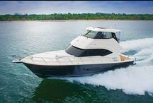 Riviera 50 Enclosed Flybridge / Riviera Yachts has built top-quality boats for 34 years, launching more than 5,000 to date. The Australian builder has developed a reputation for turning out tough, strong boats that love bashing out to the fishing grounds.