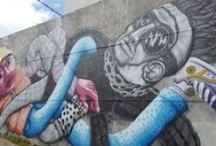 rescatando el arte callejero / grafitis y pinturas en las calles de mi ciudad.