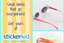 Summer Camp Labels / Label your kids belongings with 100% Waterproof Personalized labels so that they come back from summer camp with a bag as full as they left with!! Water and weather resistant, dishwashable and laundry safe and fun labels.