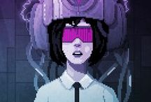Pixel art animation / Pixel art and animation