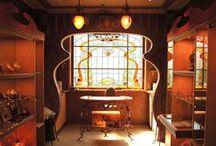 Art Nouveau - Jugendstil / by Stefan Allan
