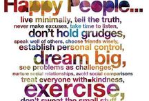 Healthy Living / Inspiration for a positive well being & healthy living.