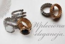 Wpleciona elegancja / Woven Elegance / Biżuteria wykonana ze srebra w formie łańcuszków i plecionek / Jewelry made of silver in the form of chains and braids