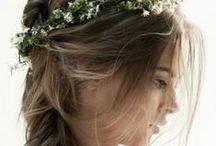 Wedding Hair half up/ half down / Wedding Hair that's half up and half down