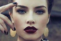 Make up. / Ideas for make-up.