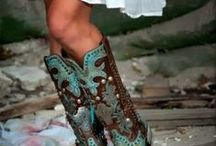 Cute Cowboy Boots / The hottest and cutest cowboy boots we can scavenge out in internetland!  View, drool, and enjoy! / by Cute n' Country
