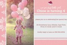 Creative Party | Invitations
