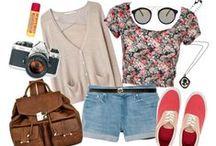 Spring/Summer Fashion. / Ideas for the warmer seasons.