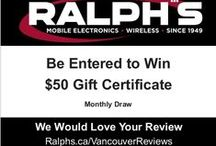 Ralph's Radio Vancouver / Victoria Reviews / Sharing our 5 Star reviews with you! Ralph's Radio Excellence since 1949! Mobile Electronics - Wireless Communication