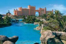 BAHAMAS  ✈️ / En passant par Orlando... Que du rêve ... Hôtel Atlantis Resort - Nassau / by Maryse Schneider
