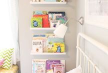 Book shelf & Reading corner