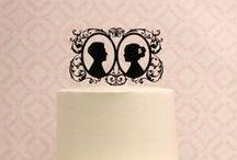 Wedding cake toppers / Wedding Cake topper ideas