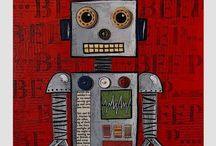 Роботы.