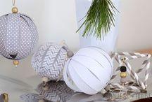 DIY Christmas / Do it yourself -Christmas decorations